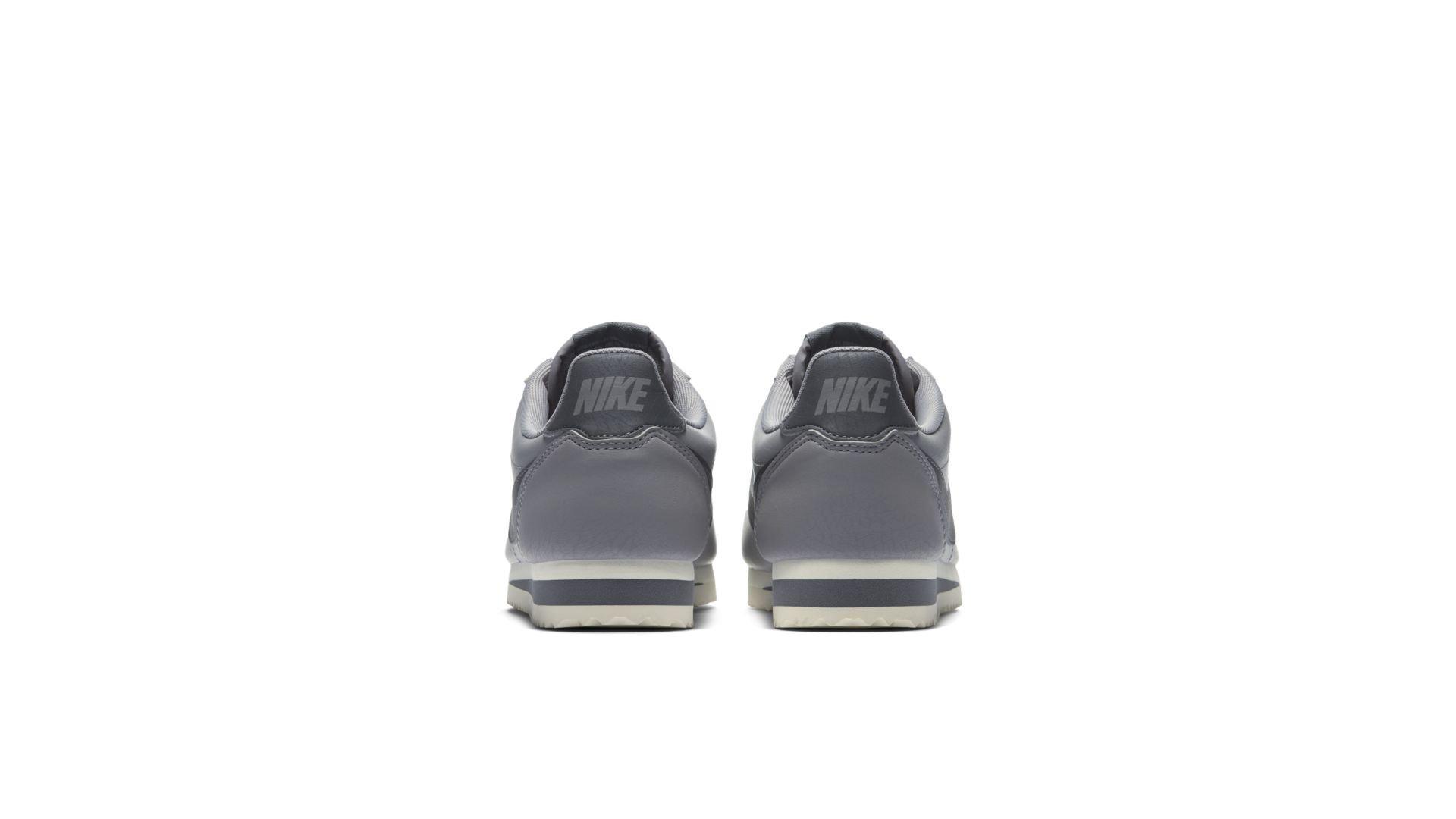 Nike Classic Cortez Leather Atmosphere Grey (W) (807471-017)