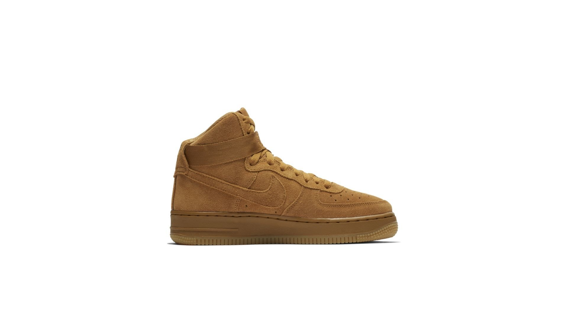 Nike Air Force 1 High Wheat Gum 2018 (GS) (807617-701)