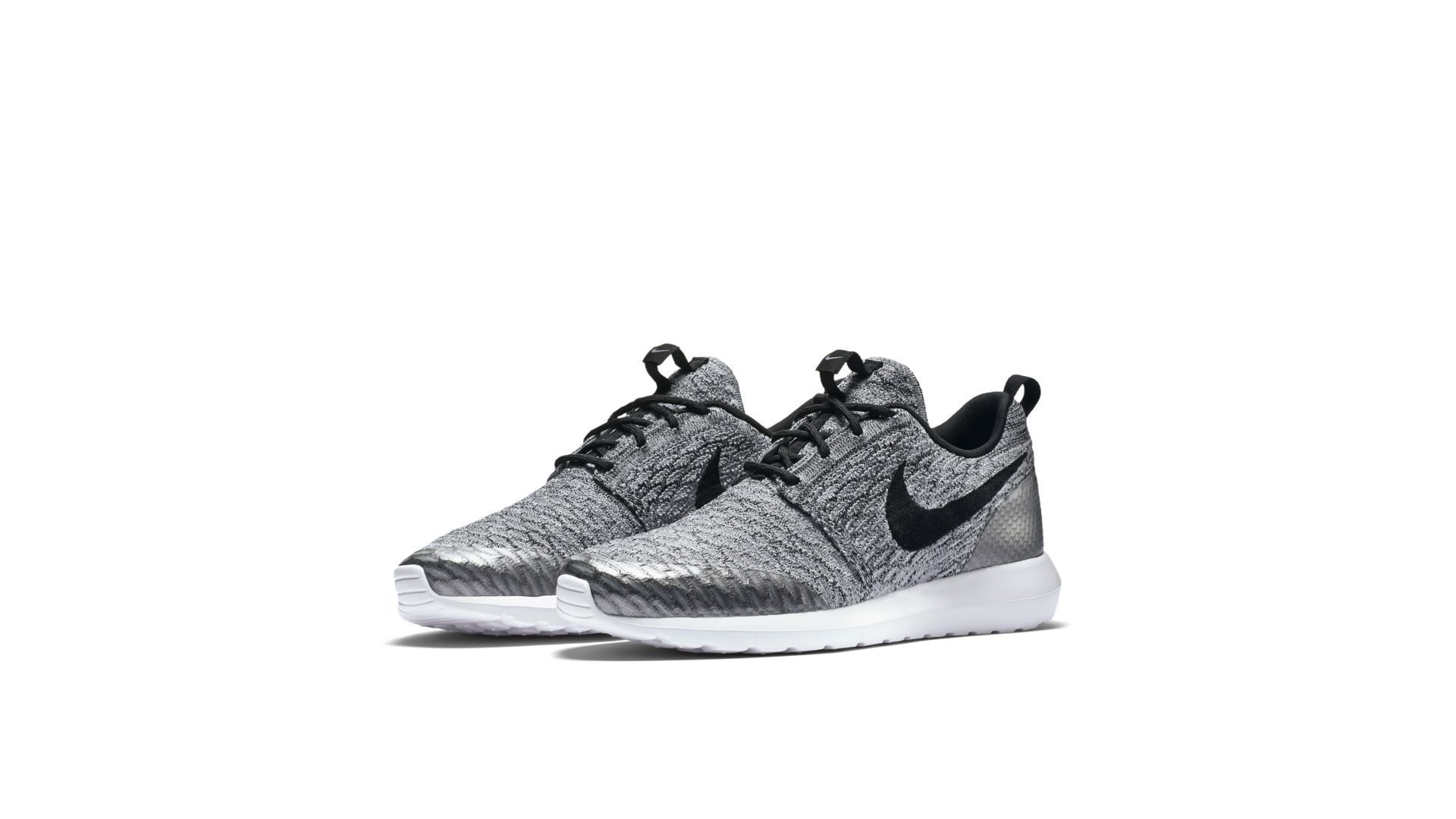 Nike Roshe Run Flyknit NM Wolf Grey (816531-002)
