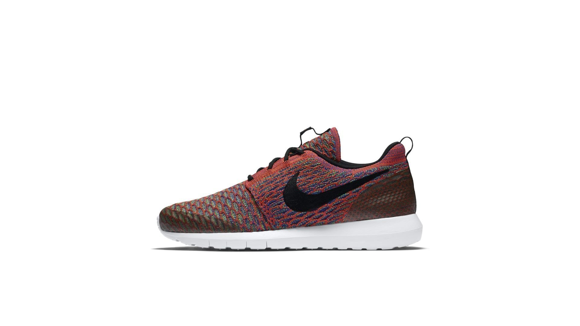 Nike Roshe NM Flyknit Bright Crimson Multi-Color (816531-600)
