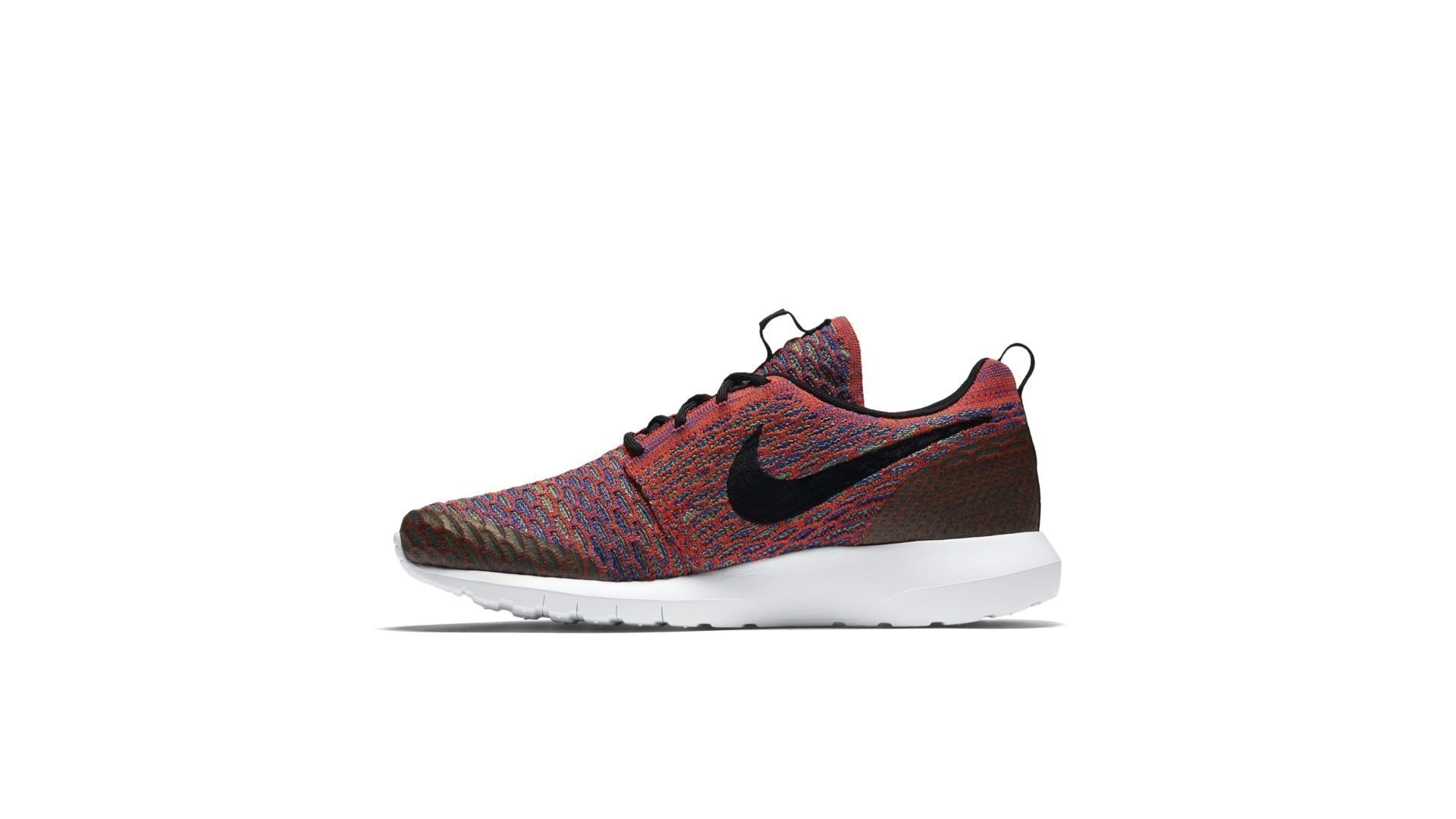 Nike Roshe NM Flyknit Bright Crimson Multi-Color (816531-600)