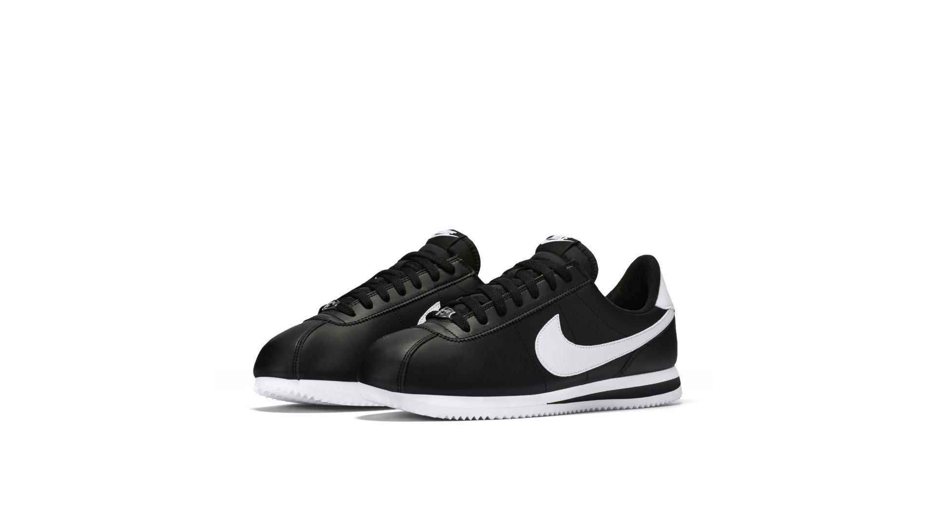 Nike Cortez Basic Black White (819719-012)