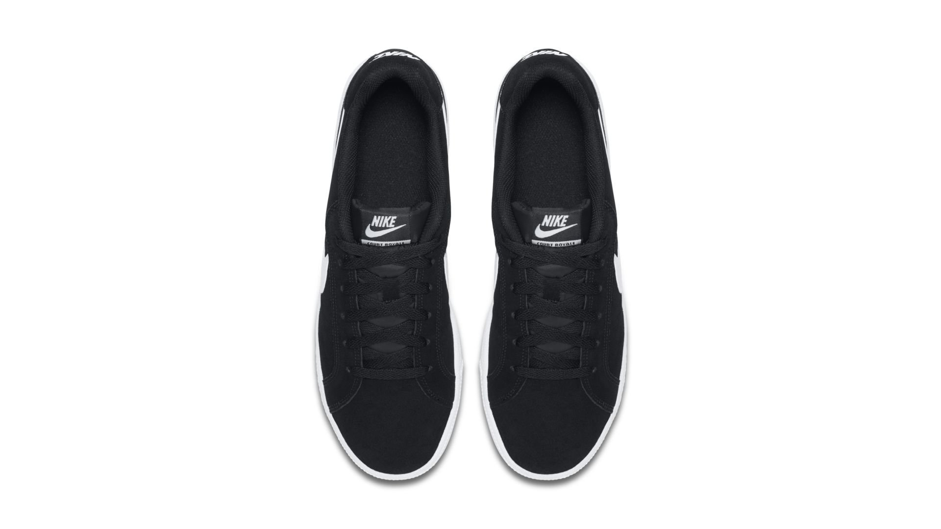 Nike Court Royale Suede Black White (819802-011)