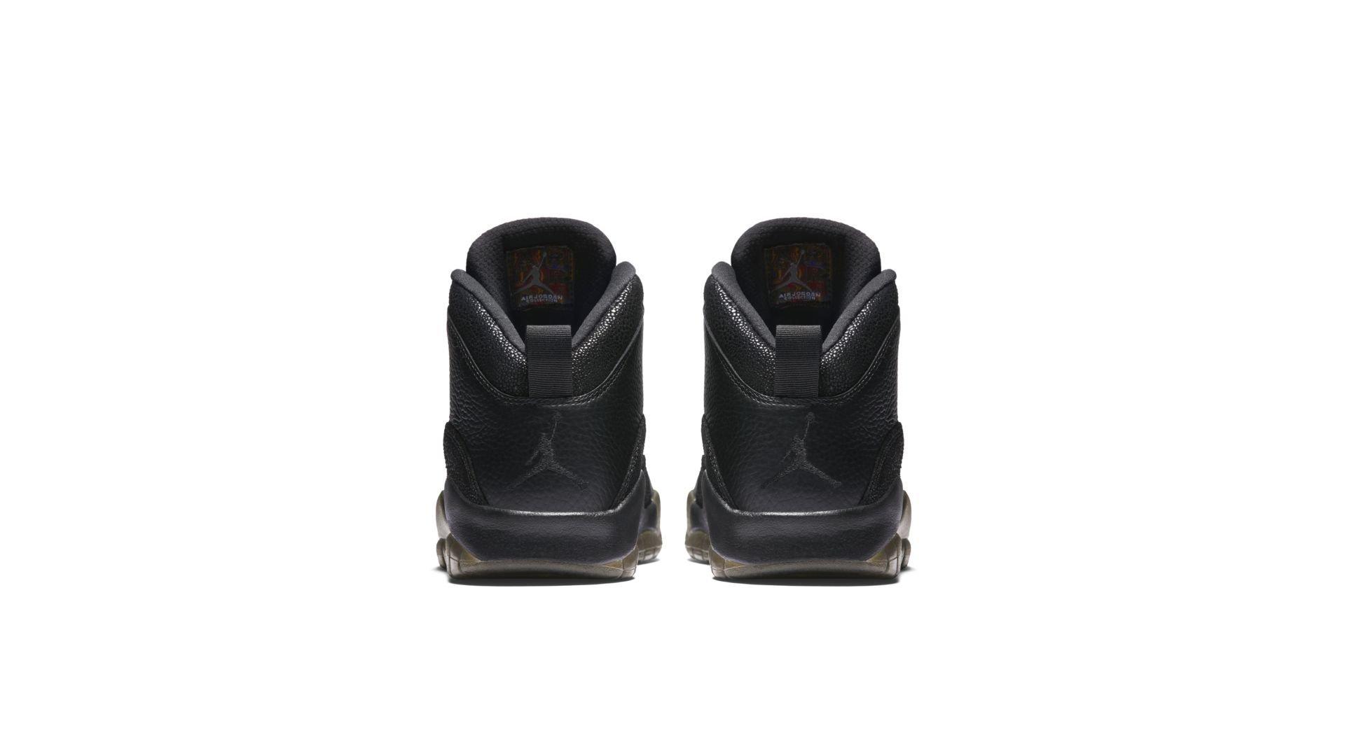 Jordan 10 Retro Drake OVO Black (819955-030)