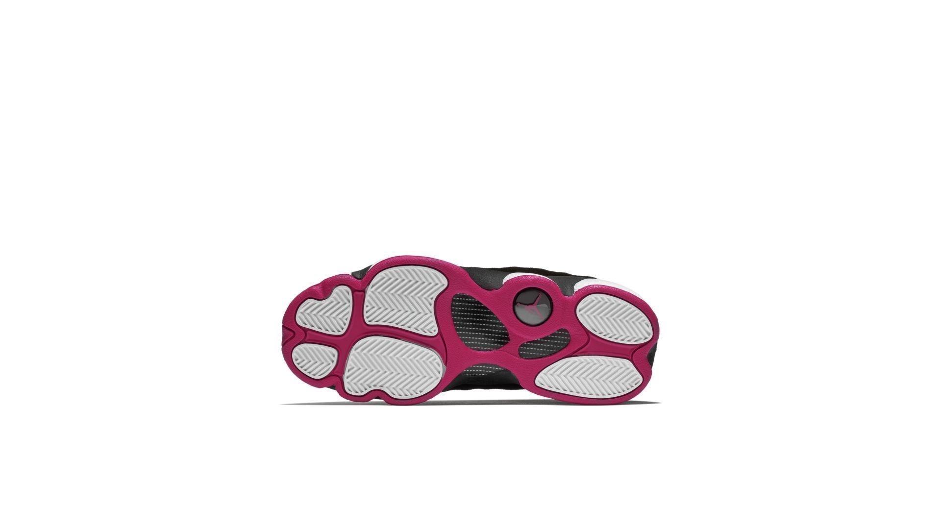 Jordan Jumpman Team 2 Black Rush Pink (GS) (820276-006)