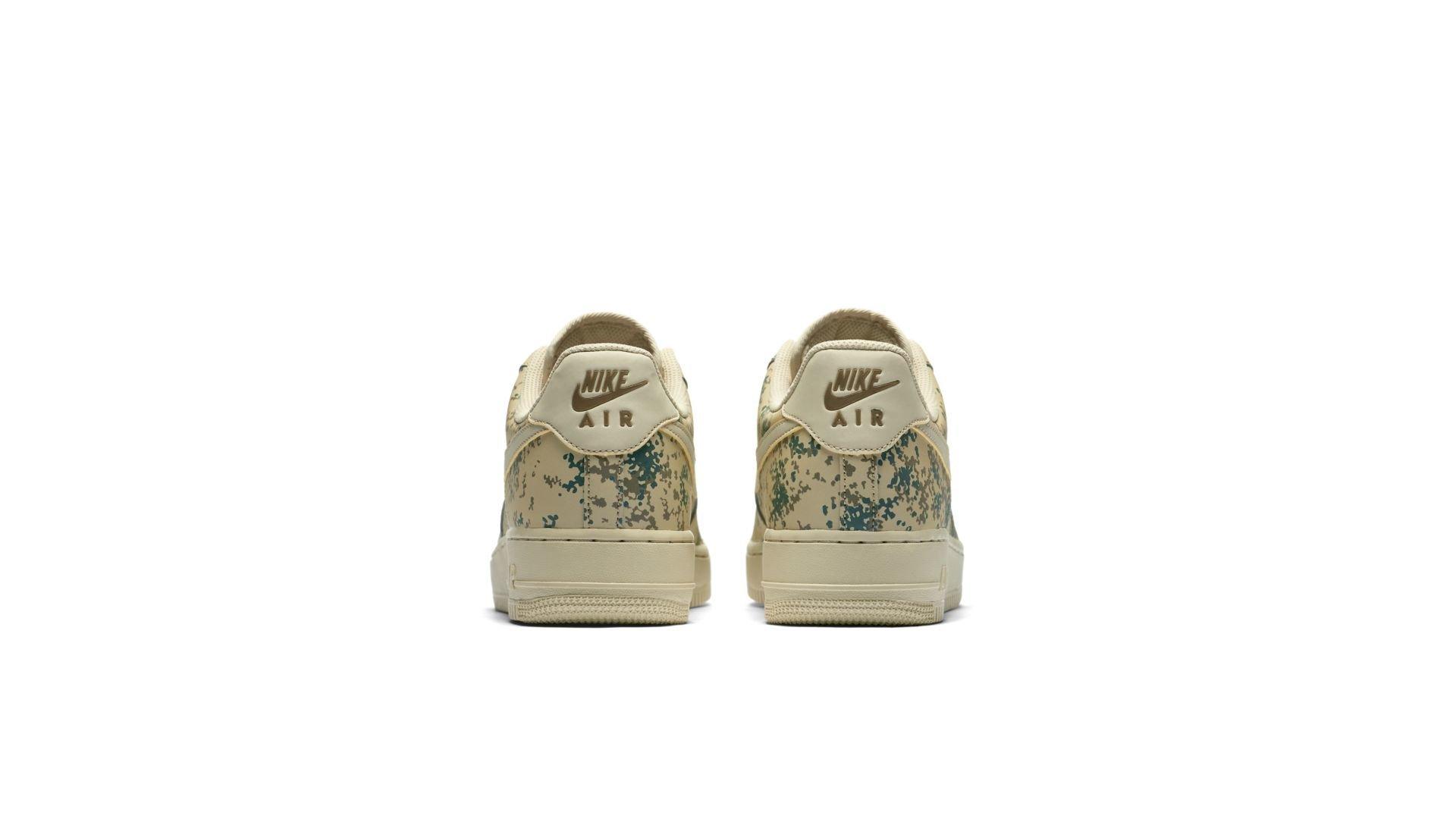 Nike Air Force 1 Low Desert Camo Team Gold (823511-700)