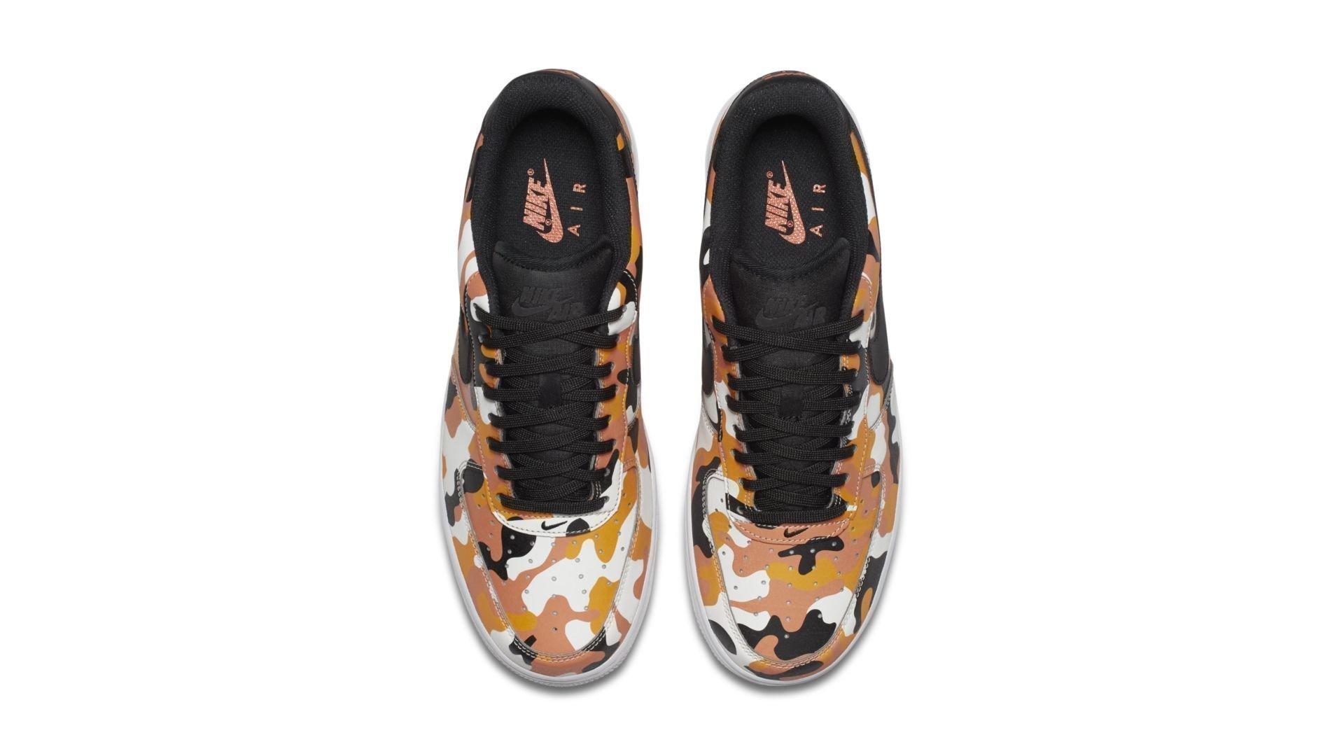 Nike Air Force 1 Low Camo Orange (823511-800)