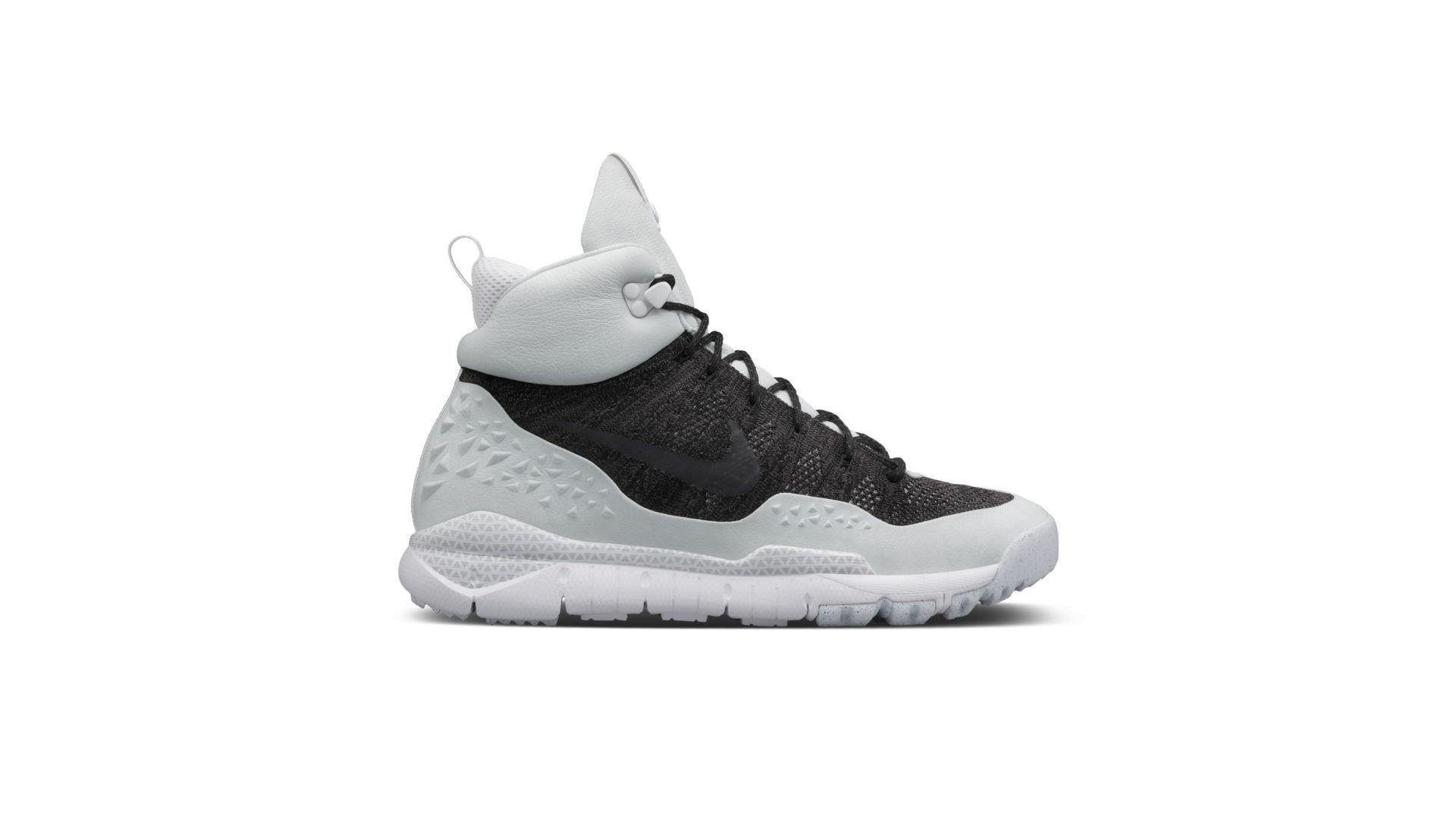 Nike Lupinek Flyknit Black White (826077-002)