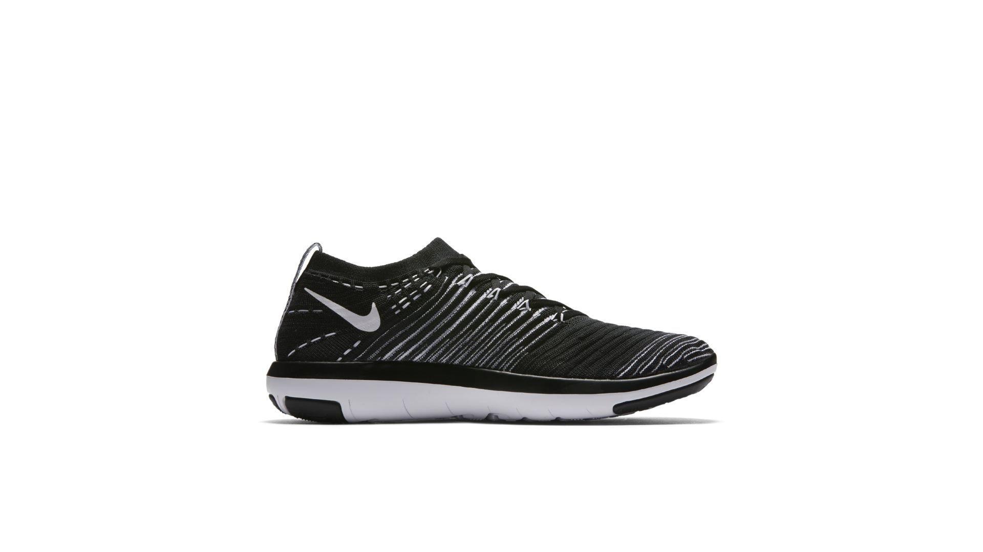 Nike Free Transform Flyknit Black White (W) (833410-010)