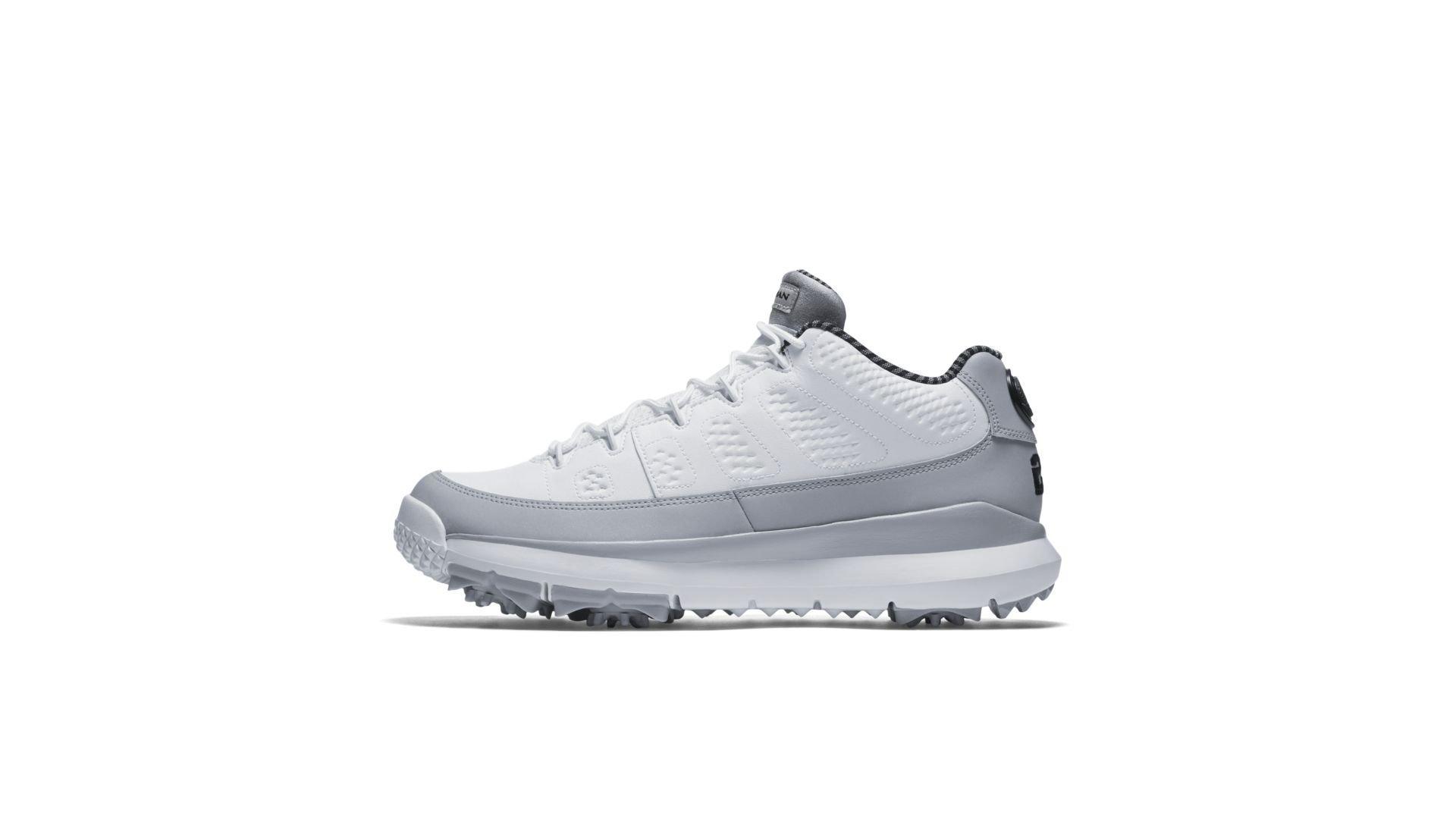 Jordan 9 Retro Golf Cleat Wolf Grey (833798-103)