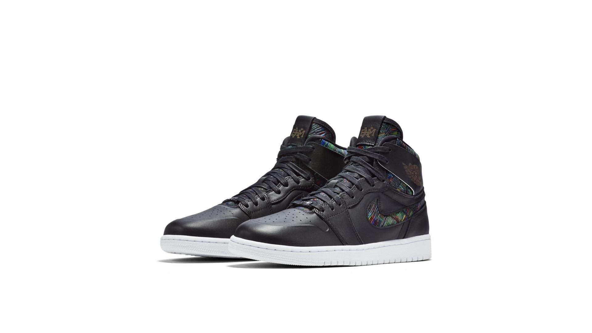 Jordan 1 Retro Nouveau BHM (2016) (836749-045)