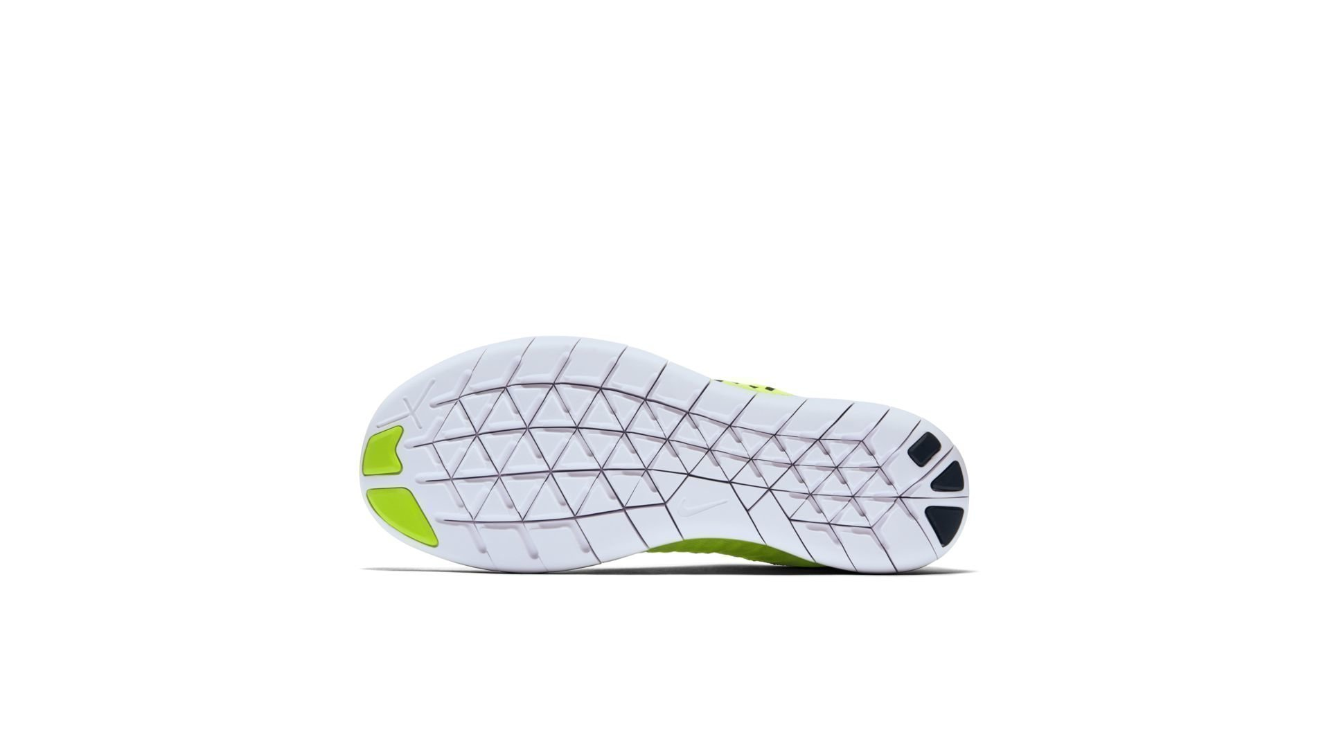 Nike Free RN Flyknit Medals Stand Volt (W) (842546-700)