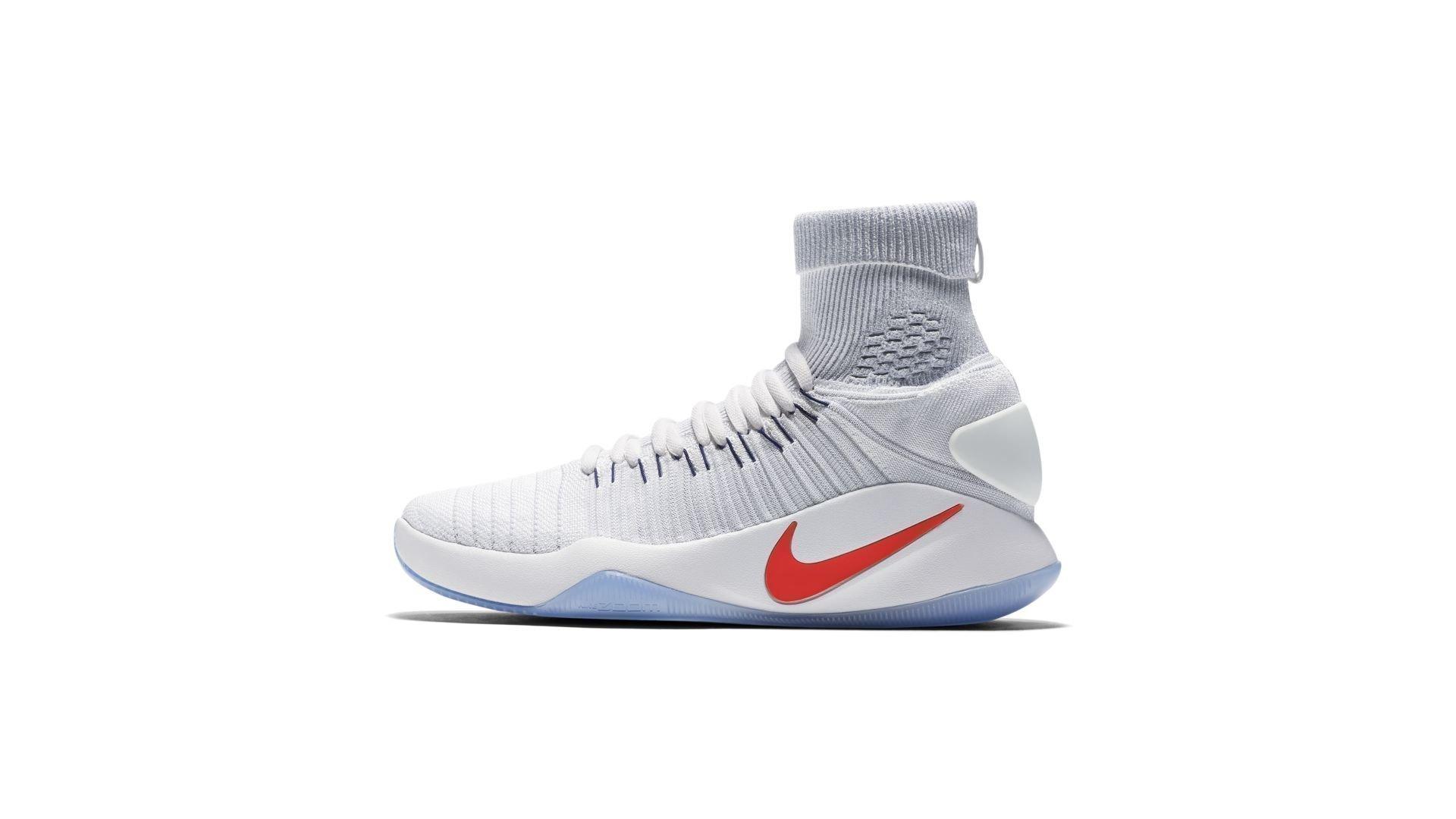 Nike Hyperdunk Flyknit 2016 USA Home (843390-146)