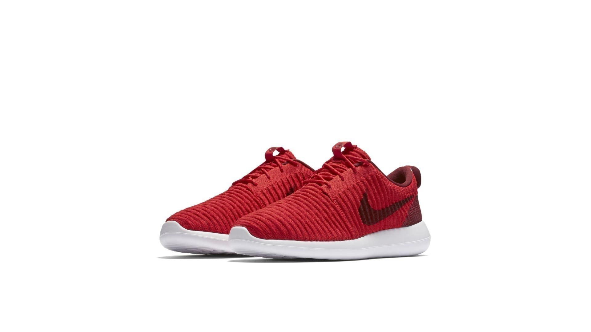 Nike Roshe Two Flyknit University Red Team Red (844833-600)