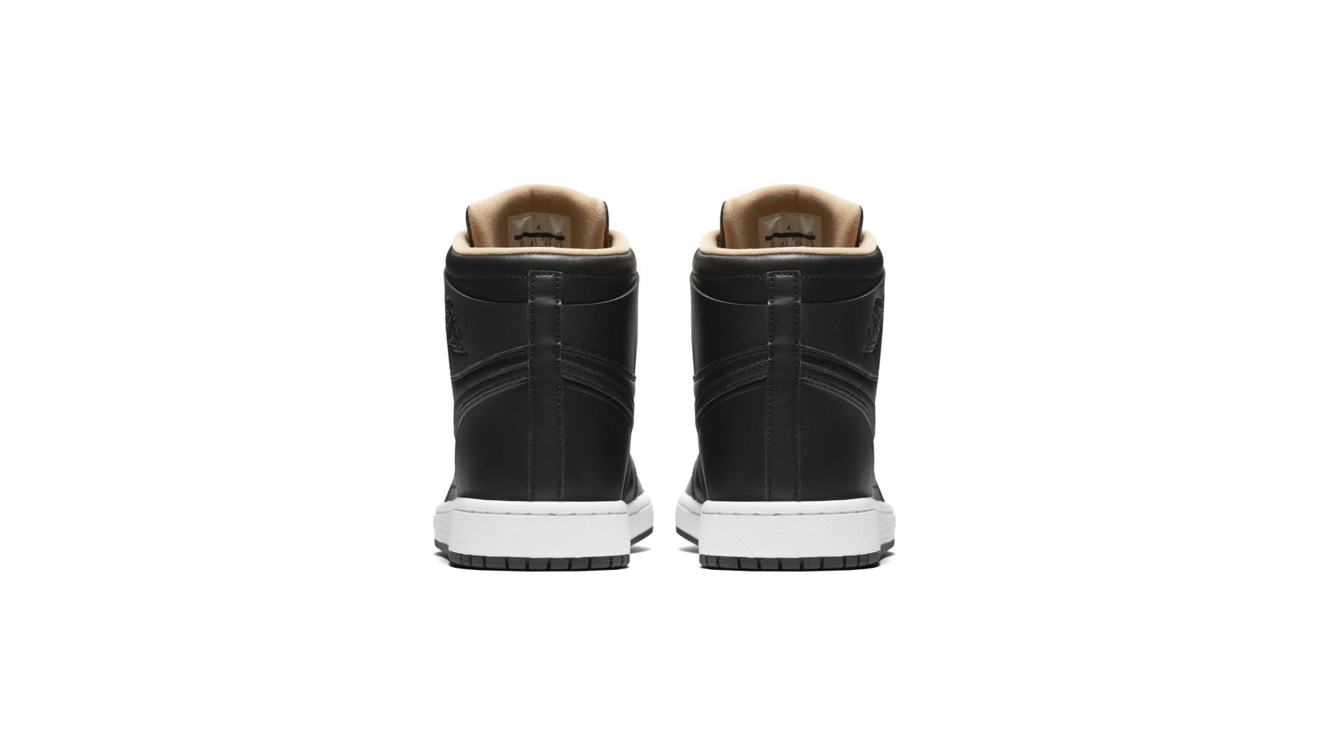 Jordan 1 Retro Black Vachetta Tan (845018-030)