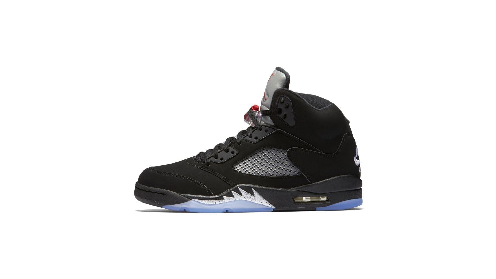 Jordan 5 Retro Black Metallic (2016) (845035-003)