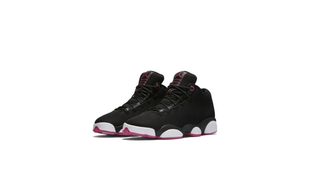 Jordan Horizon Low Black Vivid Pink (GS)