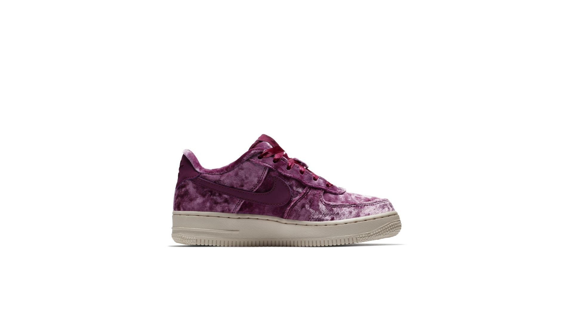 Nike Air Force 1 Low Crushed Velvet (GS) (849345-601)