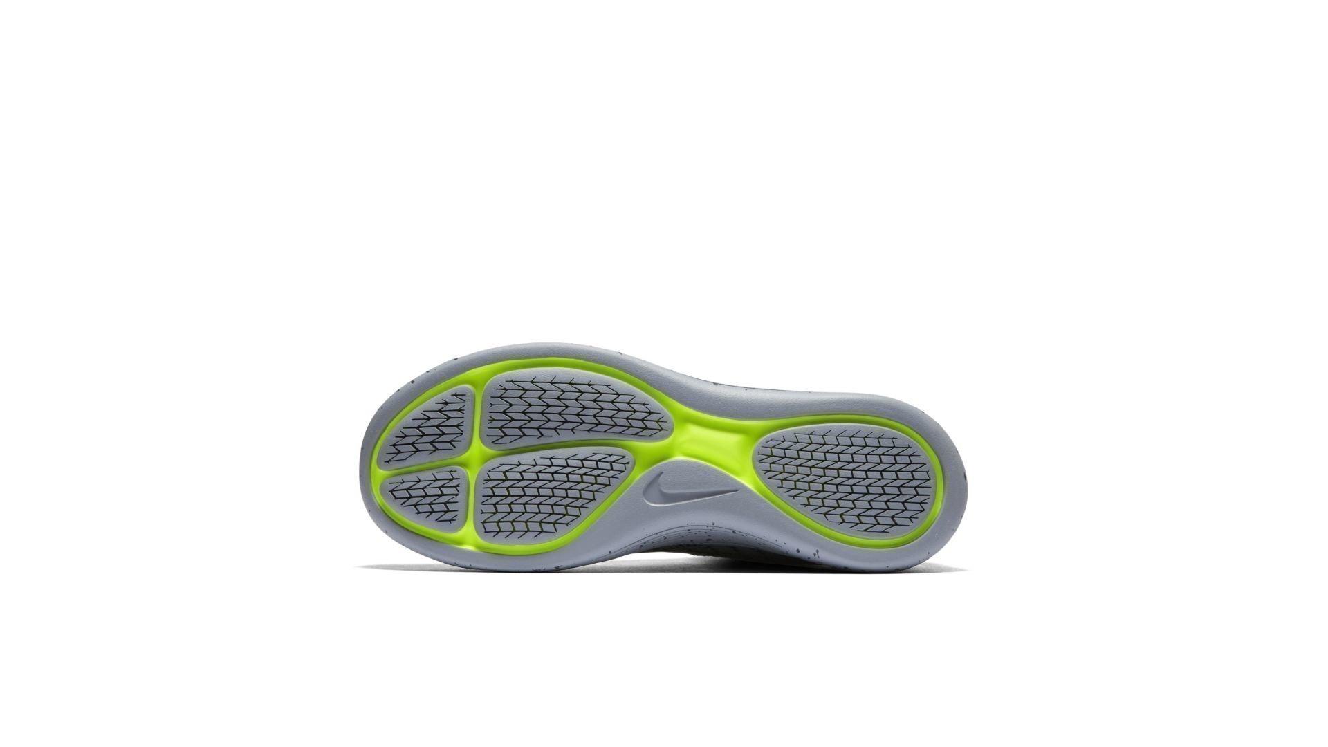 Nike Lunarepic Flyknit Shield Black Silver Volt (W) (849665-001)