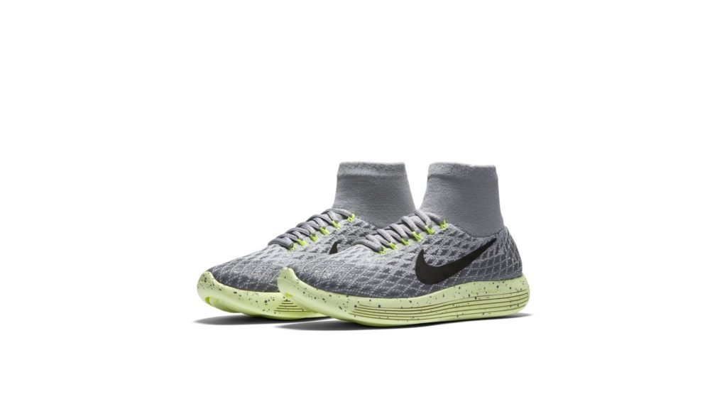 Nike Lunarepic Flyknit Shield Wolf Grey Dark Grey Volt (W)