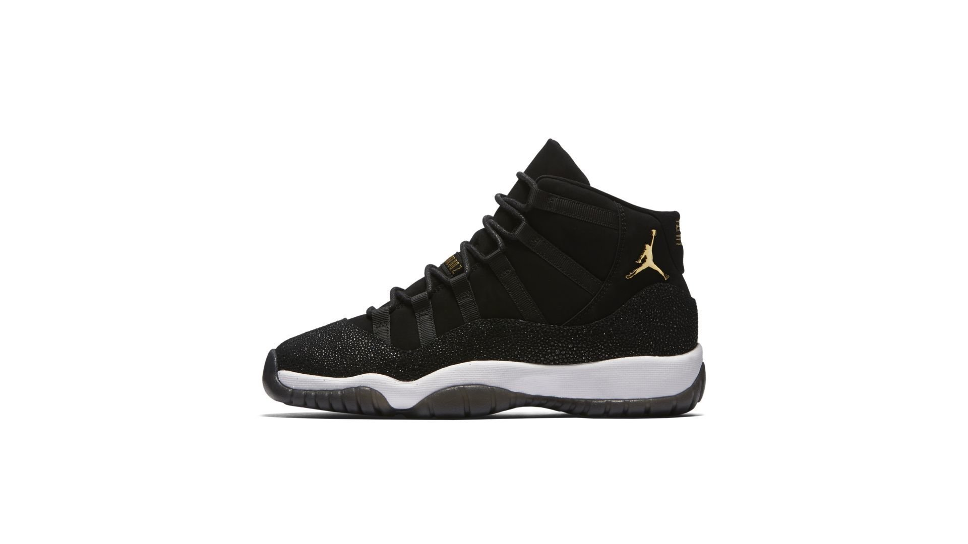 Jordan 11 Retro Heiress Black Stingray (GS) (852625-030)