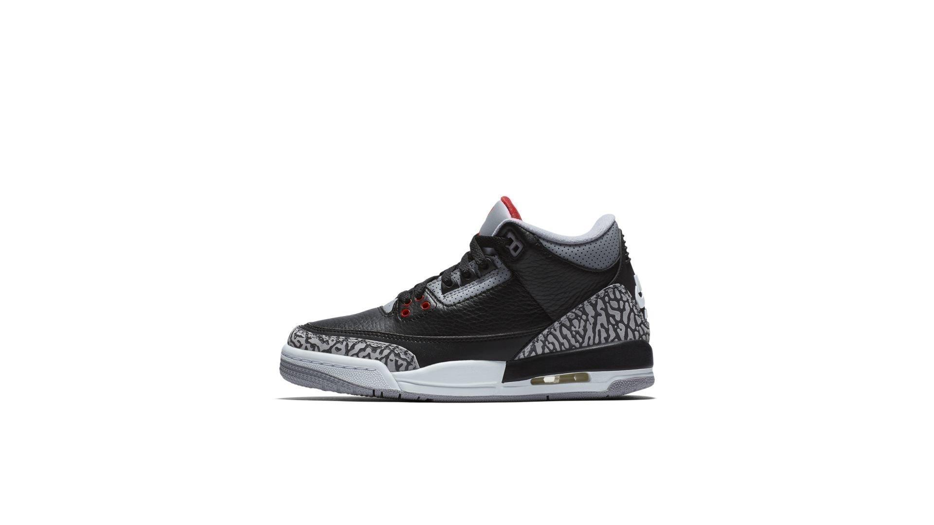 Jordan 3 Retro Black Cement 2018 (GS) (854261-001)