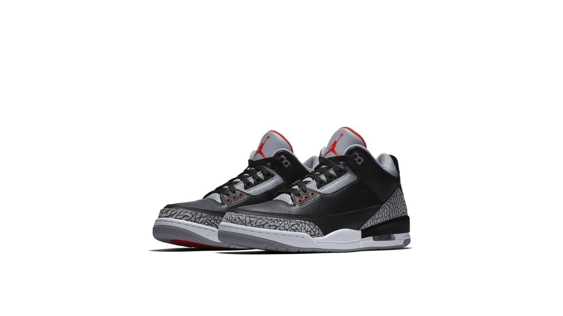 Jordan 3 Retro Black Cement (2018) (854262-001)