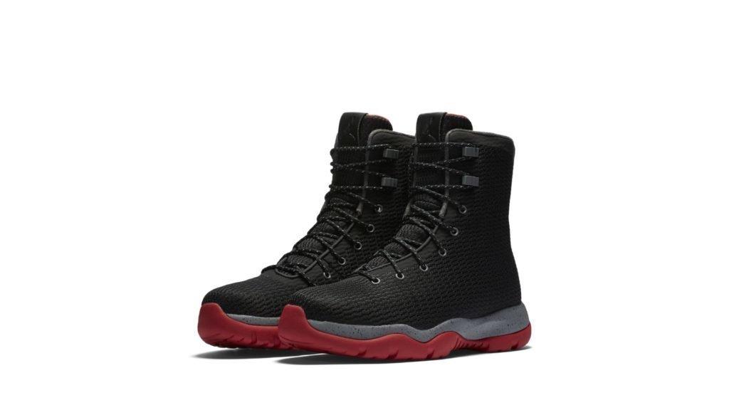 Jordan Future Boot Black Grey Red