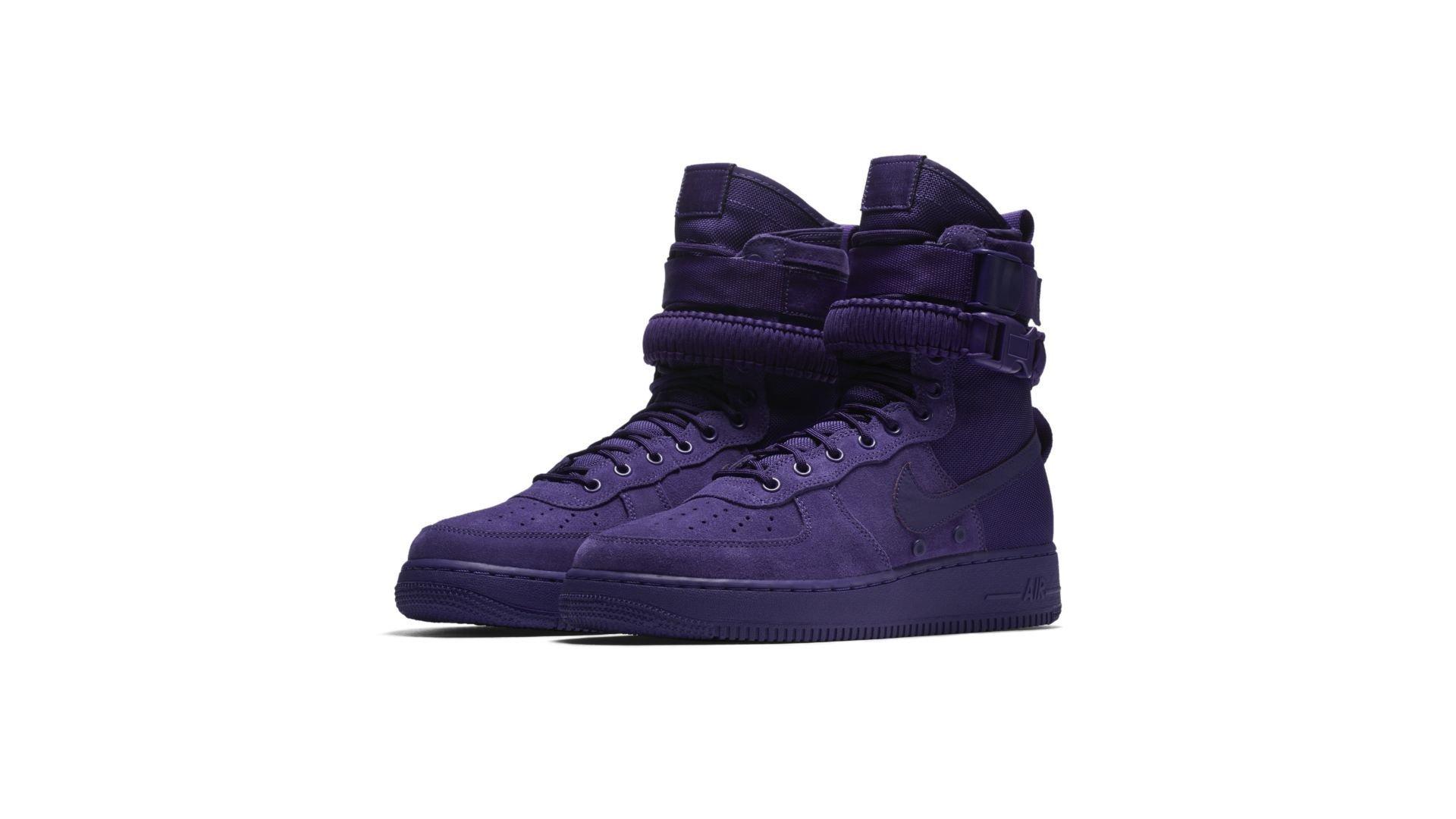 Nike SF Air Force 1 High Court Purple (864024-500)