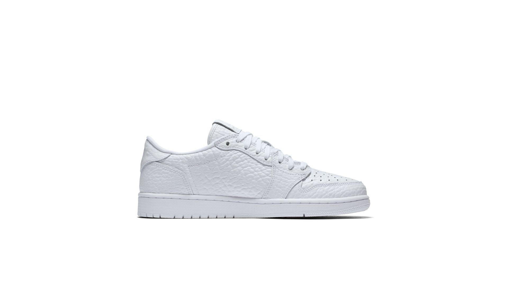 Jordan 1 Retro Low Swooshless White (872782-100)