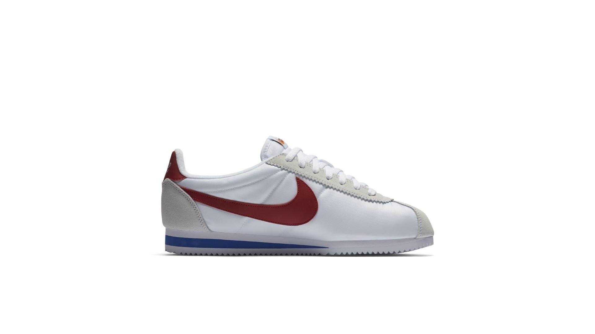 Nike Classic Cortez Premium Nylon Forrest Gump (876873-101)