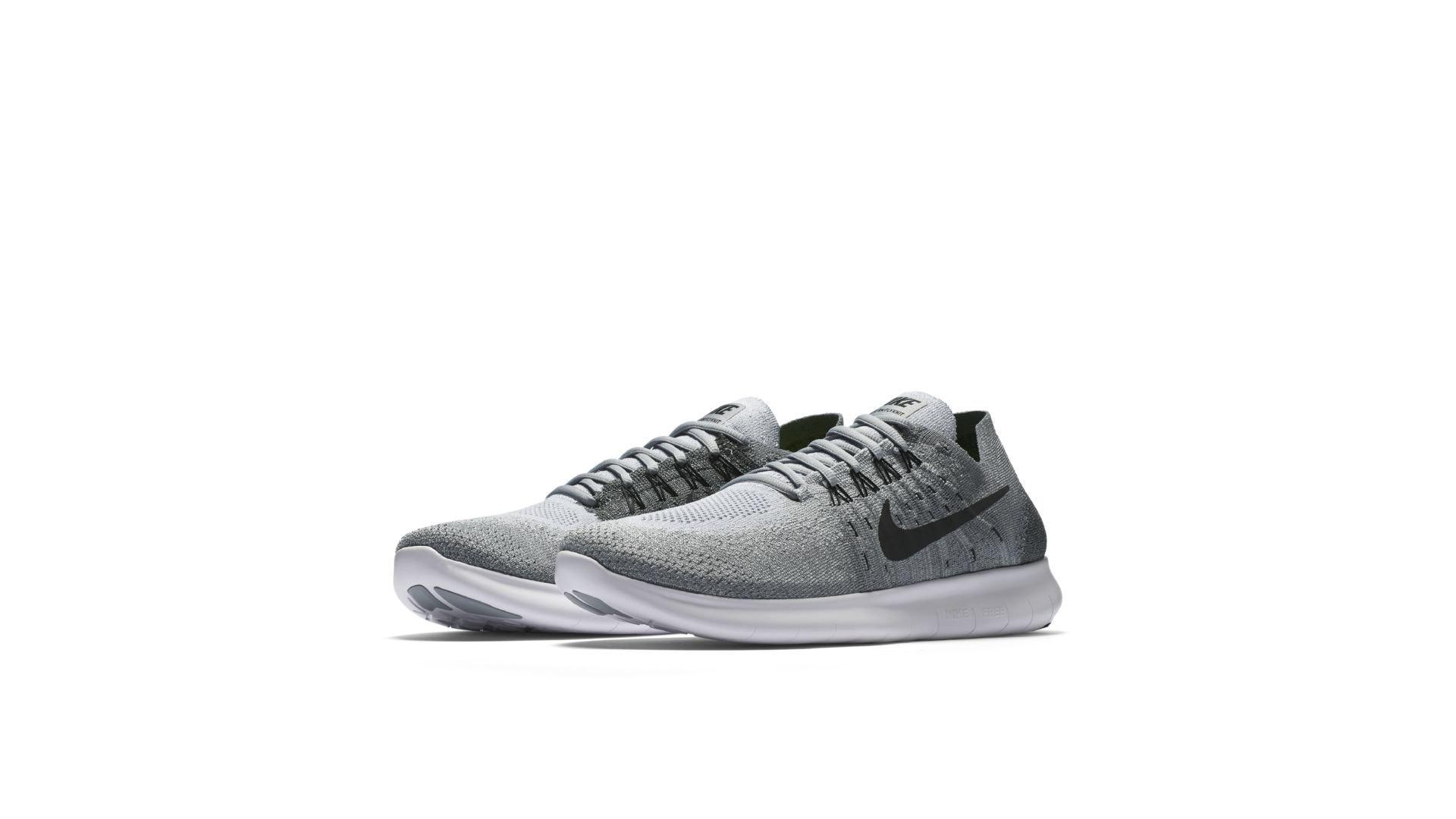 Nike Free RN Flyknit 2017 Wolf Grey (880843-002)