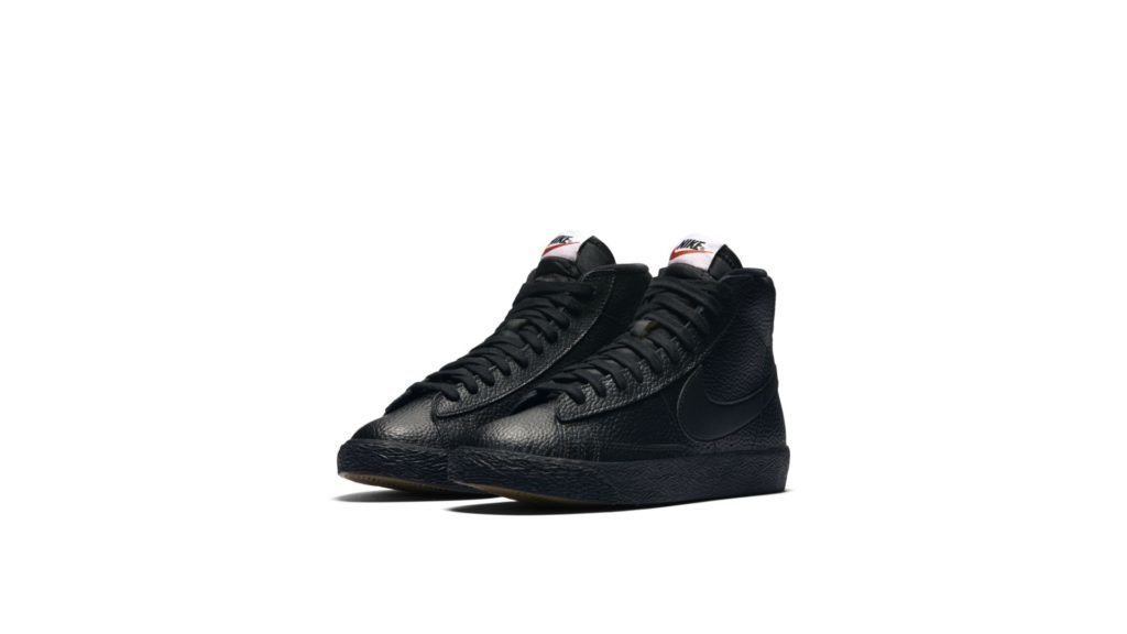 Nike Blazer Mid Triple Black (GS)