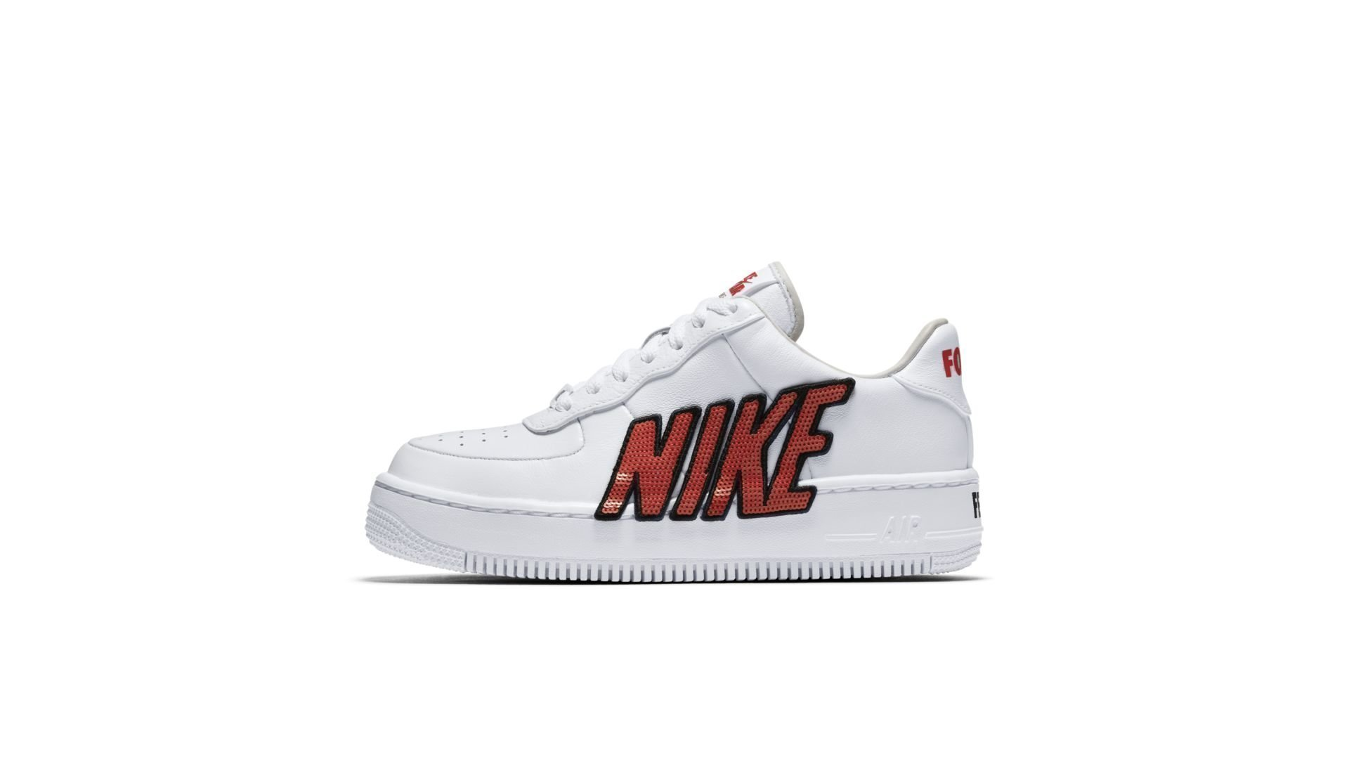 Nike Air Force 1 Upstep LX Force Is Female White (W) (898421 101)