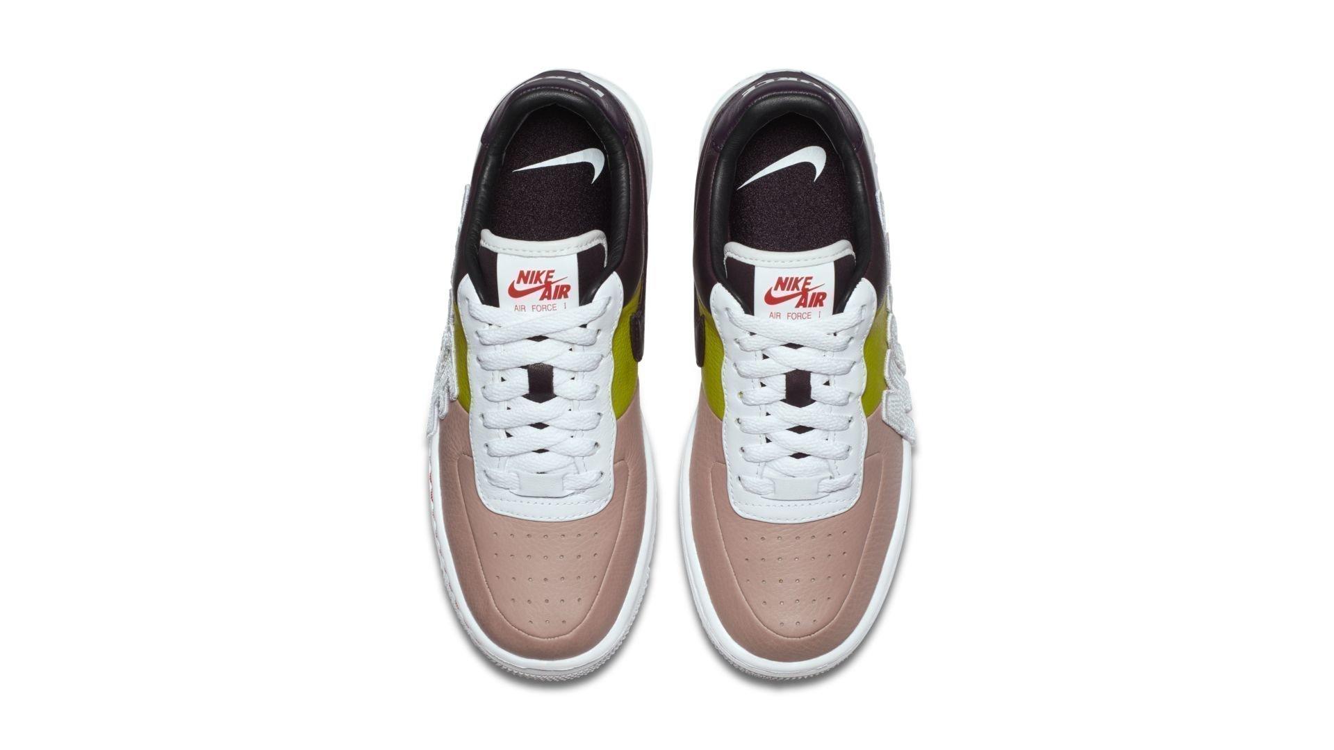 Nike Air Force 1 Upstep LX Force Is Female Port Wine (W) (898421 602)