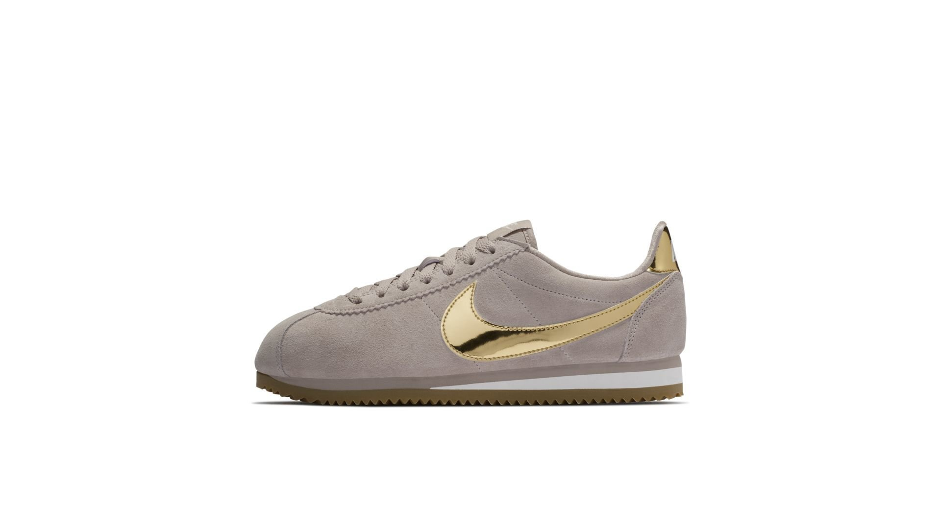 Nike Classic Cortez SE Diffused Taupe Metallic Gold (W) (902856-204)