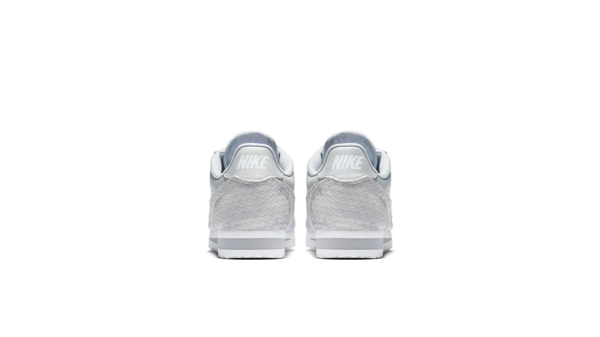 Nike Classic Cortez Pure Platinum Snake (W) (905614-001)