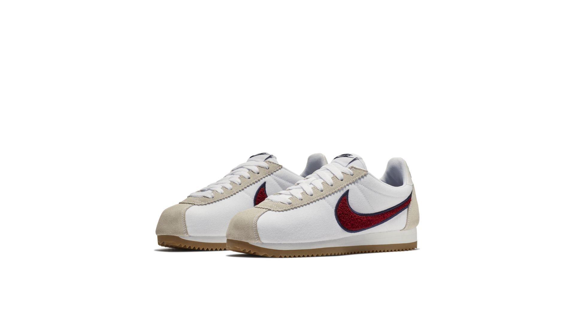 Nike Classic Cortez Chenille Swoosh Red Crush (W) (905614-103)