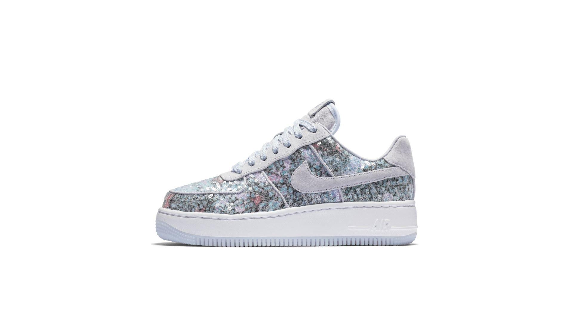 Nike Air Force 1 Upstep Glass Slipper (W) (917589-500)