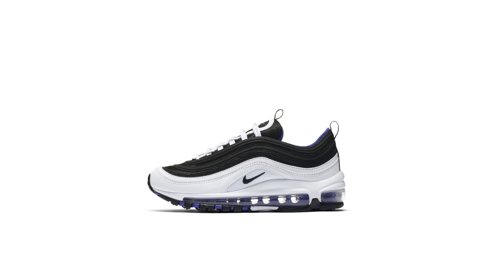 Nike Air Max 97 White Black Persian Violet (GS) (921522 102)