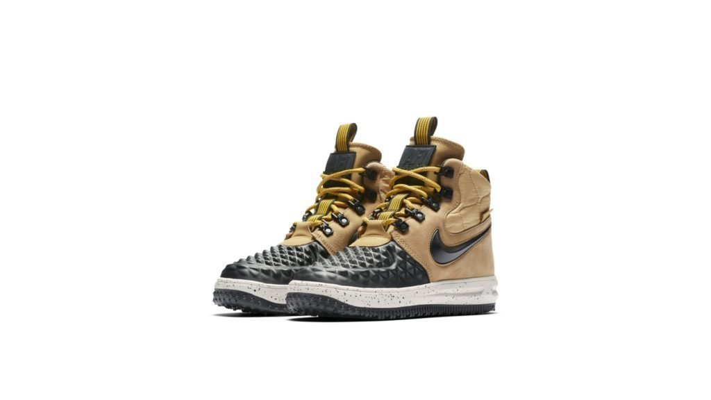 Nike Lunar Force 1 Duckboot Metallic Gold (GS)