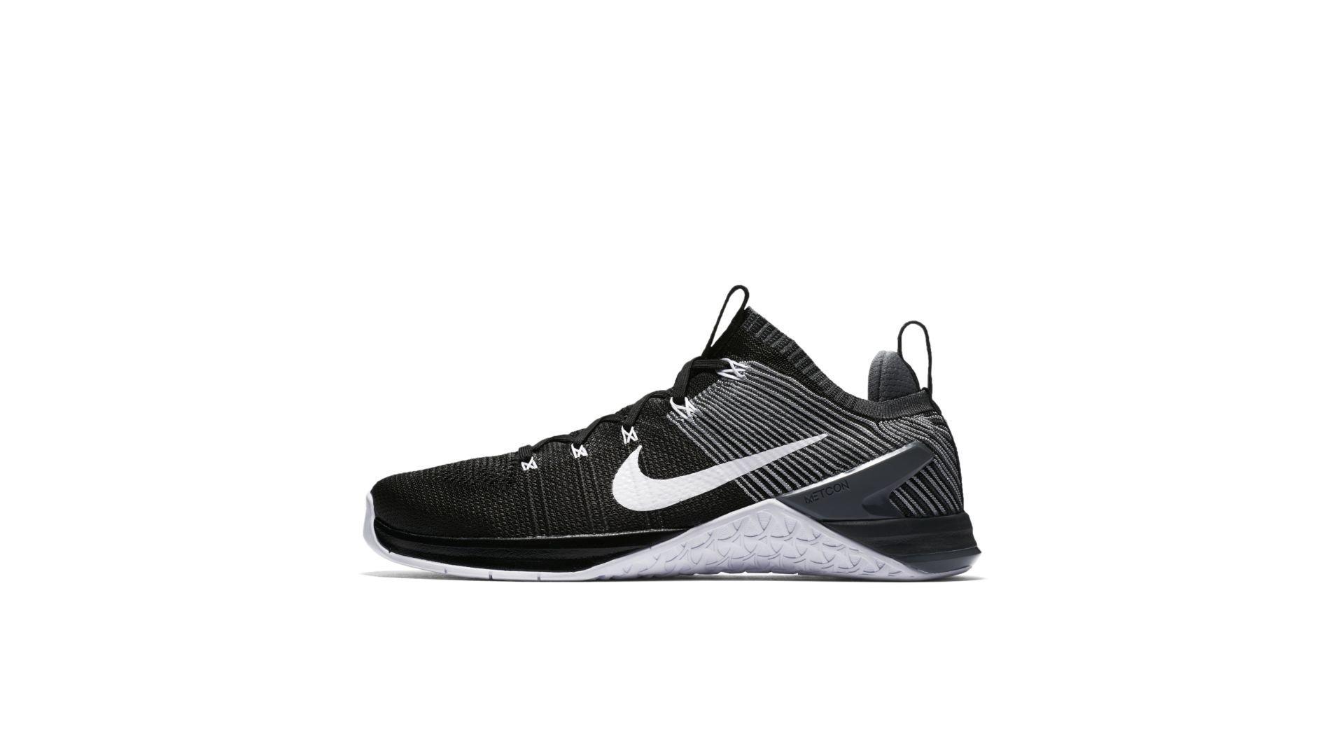 Nike Metcon DSX Flyknit 2 Black Grey White (924423-010)