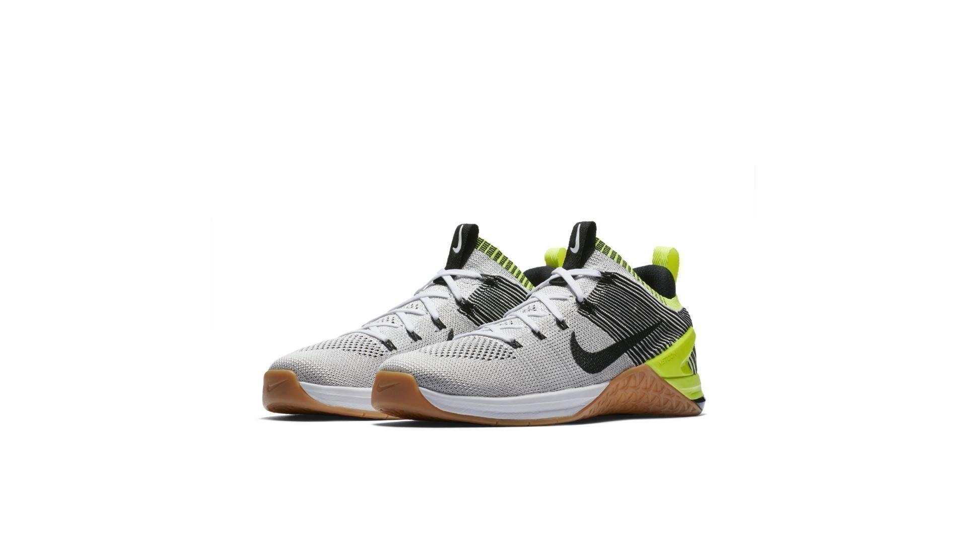 Nike Metcon DSX Flyknit 2 White Black Volt Gum (924423-107)
