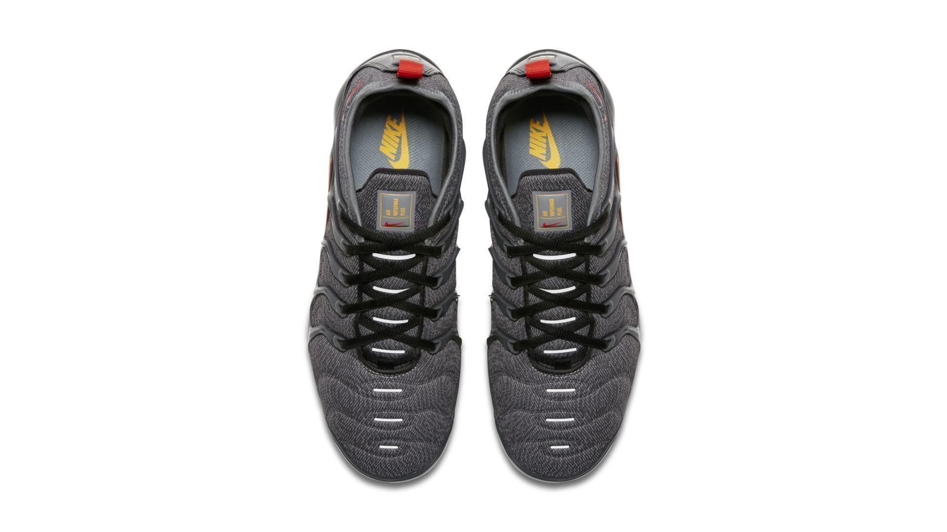 Nike Air VaporMax Plus Cool Grey Team Orange (924453-012)