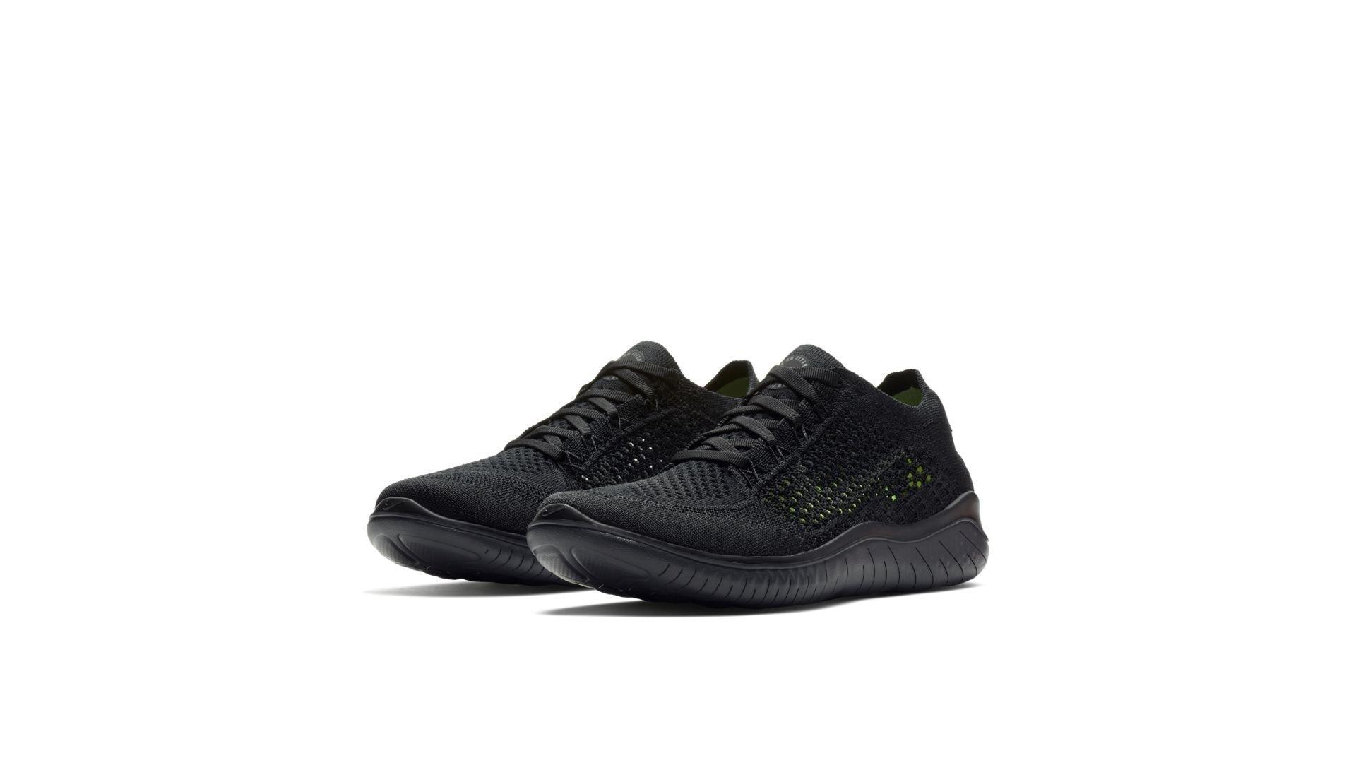 Nike Free RN Flyknit 2018 Black Anthracite (W) (942839-002)
