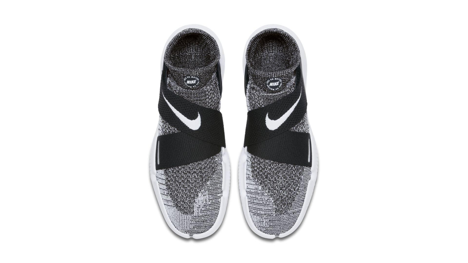 Nike Free RN Motion Flyknit 2018 Oreo (942840-001)