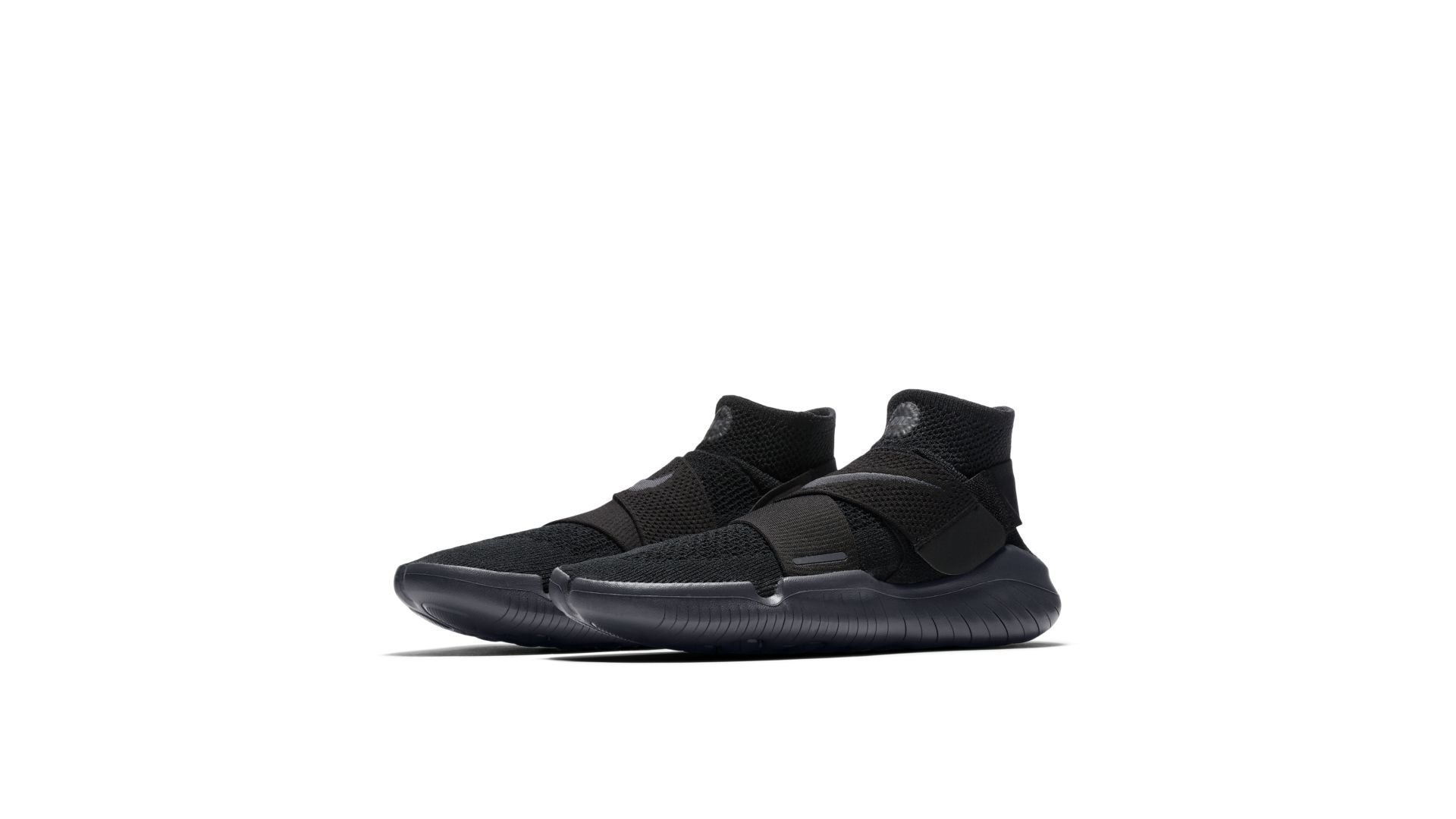 Nike Free RN Motion Flyknit 2018 Black Anthracite (942840-002)