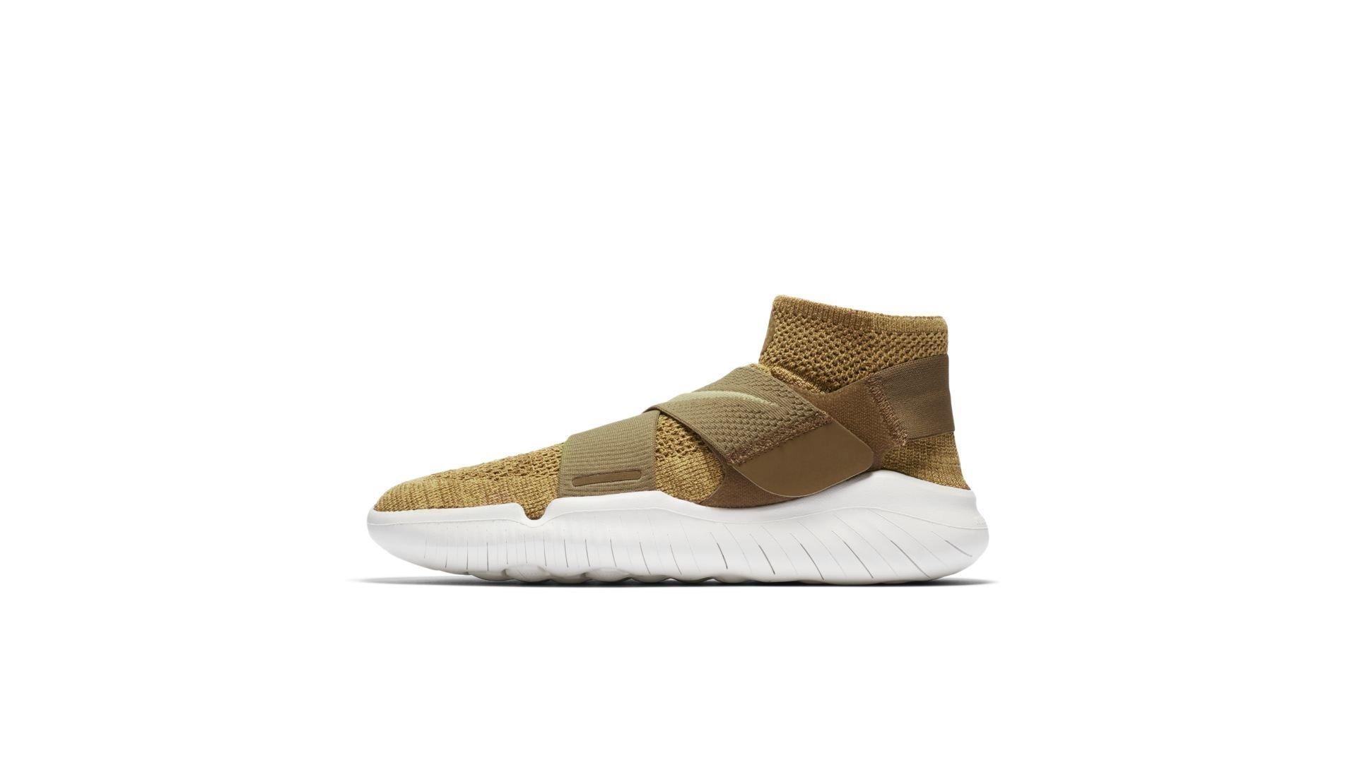 Nike Free RN Motion Flyknit 2018 Golden Beige (942840-201)