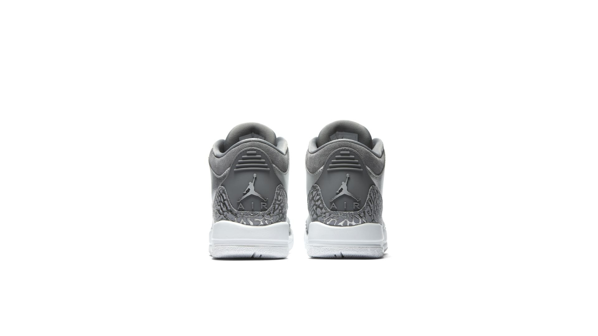 Jordan 3 Retro Premium Heiress Metallic Silver (GS) (AA1243-020)