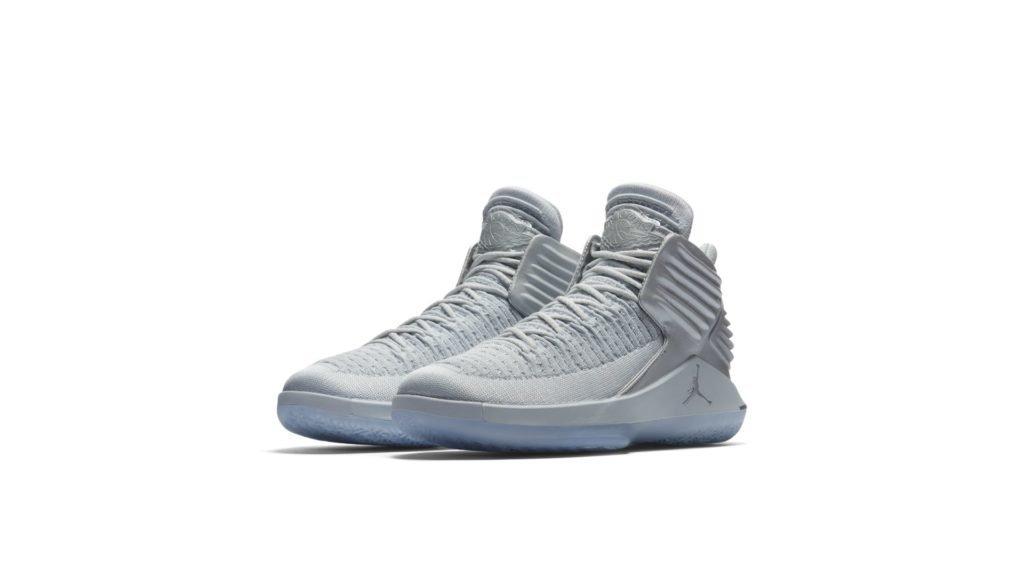 Jordan XXXII Pure Platinum 2